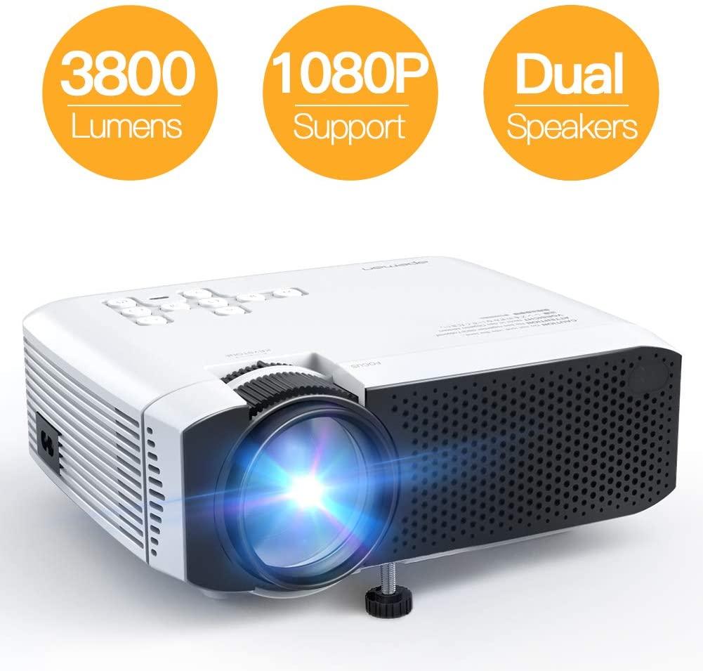 El más vendido APEMAN LC 350 proyector portatil