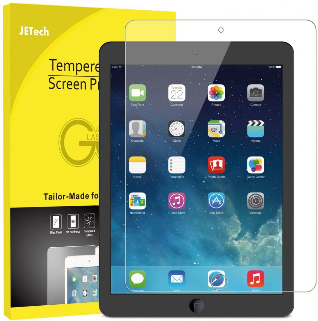 JETech Protector de Pantalla compatible iPad