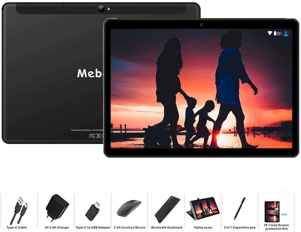 MEBERRY Tablet 10 Pulgadas Android 9 Pie