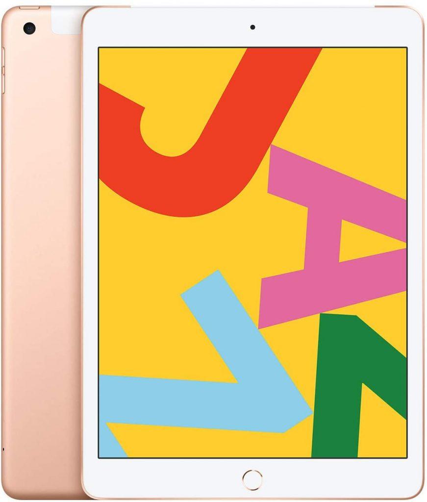 Nuevo Apple iPad (10,2 pulgadas, Wi-Fi + Cellular, 128GB) Oro