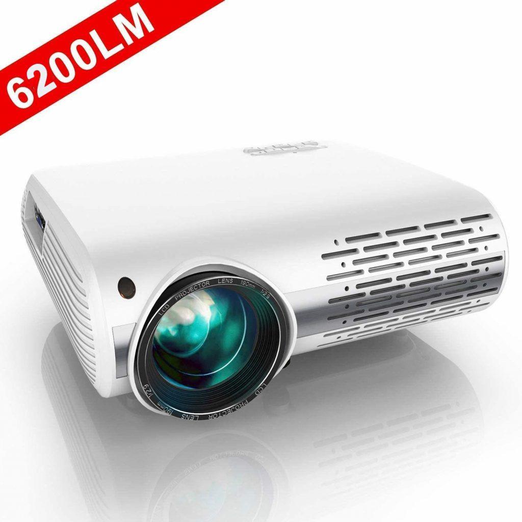 YABER proyecto cine en casa Full HD 1080P 6200 Lúmenes