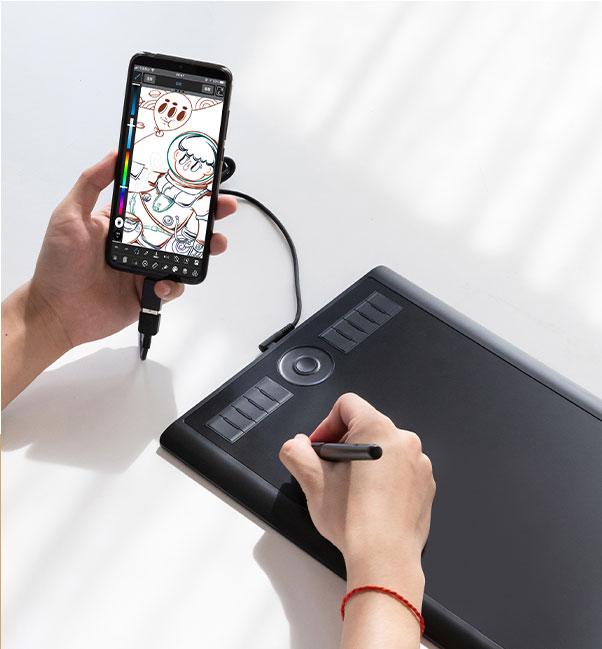 Conexion Android M10K PRO